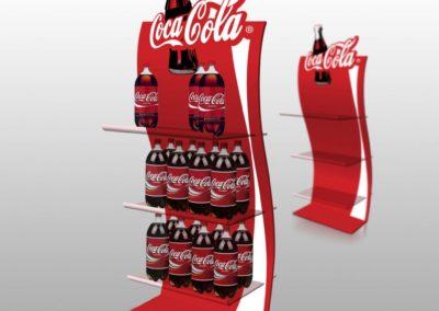 Coca Cola stalak
