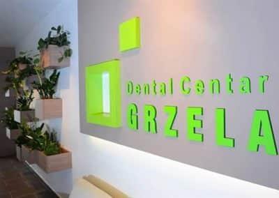 Dental centar Gržela – akrilna 3d slova